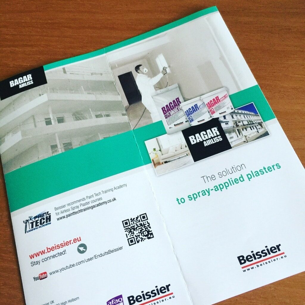 Airless Spray Plaster from Beissier
