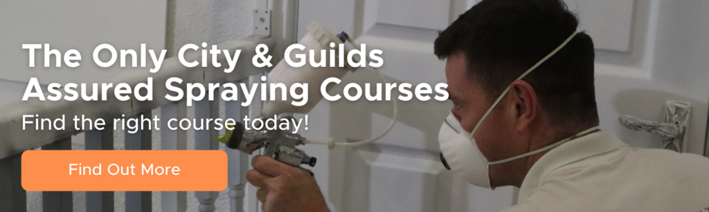 Learn spray painting for decorators